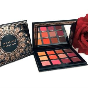 Ace Beaute Eyeshadow Palette Scarlet Dusk 12colors